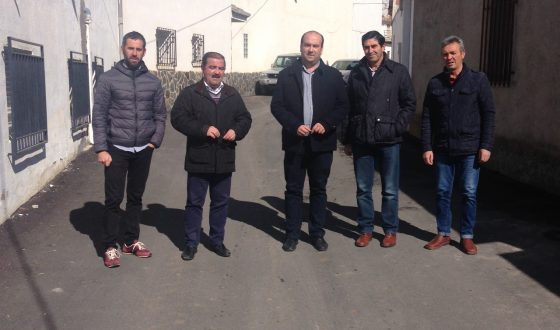 Diputación financia con cerca de 160.000 euros la adecuación de una decena de calles