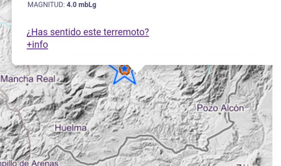En Pozo Alcón se sintió levemente un terremoto de magnitud 4.0