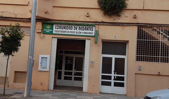 Comunicado de la Junta de Gobierno de la Comunidad de Regantes de Pozo Alcón , Hinojares y  Cuevas del Campo