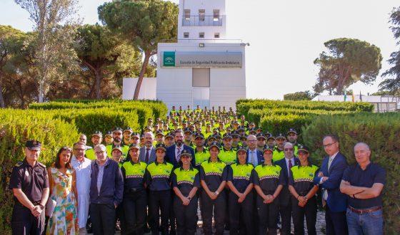 Dos nuevos policías locales se forman en la ESPA