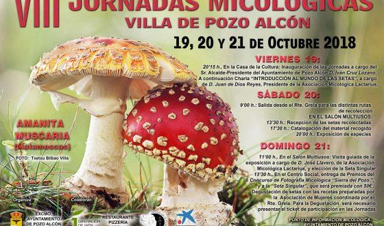 VIII Jornadas Micológicas Villa de Pozo Alcón