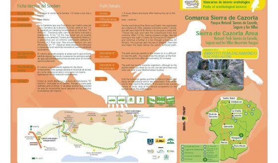 La Asociacion Desarrollo Rural Sierra De Cazorla publica información de nuestro municipio