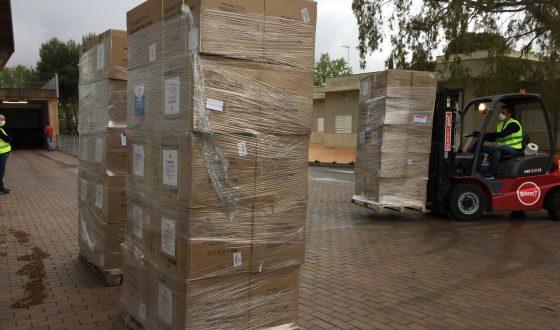 50.000 mascarillas para el Servicio de Ayuda a domicilio en la provincia de Jaén