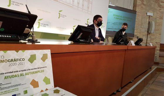 La Diputación de Jaén entrega las primeras 57 ayudas del programa Reto Demográfico para fomentar el autoempleo juvenil