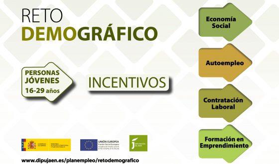 Diputación mantiene abierto hasta mediados de noviembre el plazo para solicitar las ayudas de Reto Demográfico