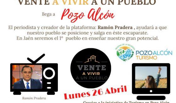 Pozo Alcón se apunta a «Vente a vivir a un pueblo»