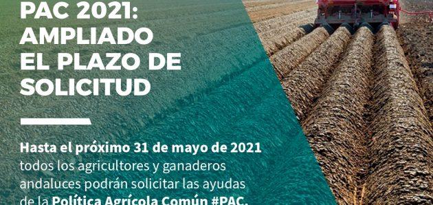 Los agricultores y ganaderos tienen hasta el 31 de mayo para solicitar la PAC